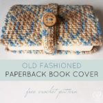 Old Fashioned Paperback Book Cover Free Pattern Oombawka Design