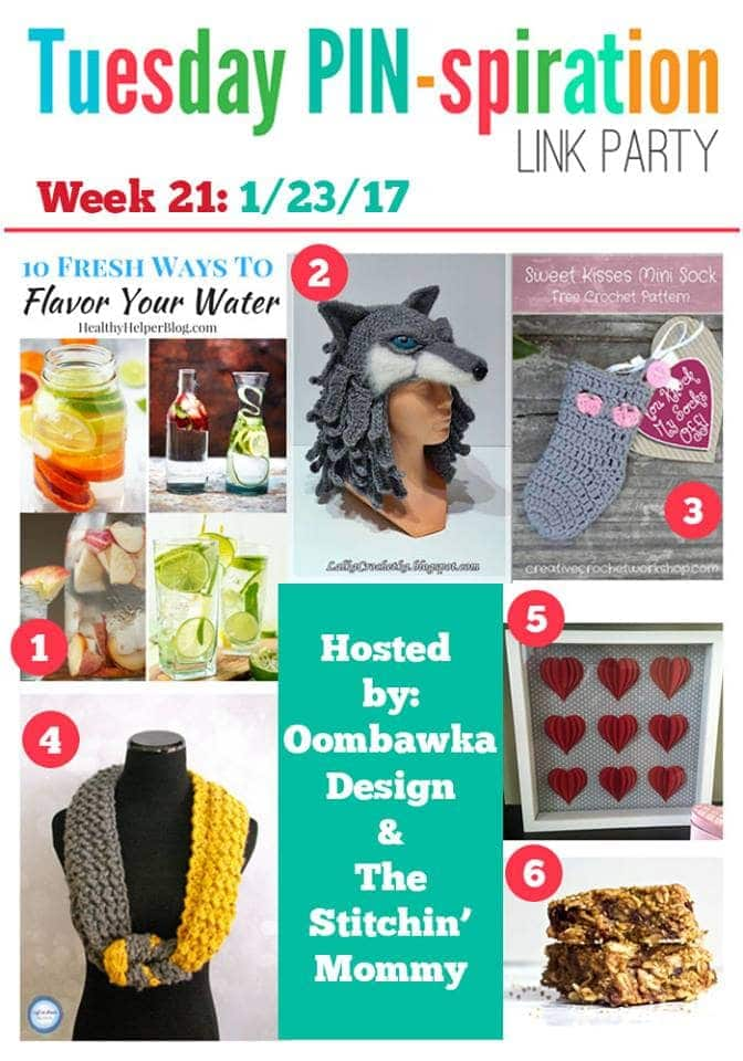 Tuesday PIN-spiration Link Party Featured Favorites January Week 3