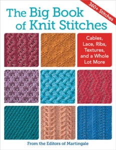 Cover - The Big Book of Knit Stitches From Martingale