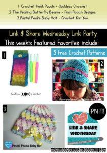 Featuring: Pastel Peaks Baby Hat Pattern