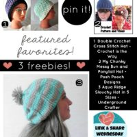 It's All About Free Hat Patterns This Week!