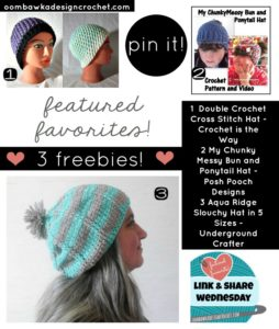 Its All About Free Hat Patterns This Week on Link and Share Wednesday