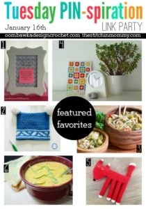 Featured Favorites Tuesday PIN-spiration Link Party Jan 16