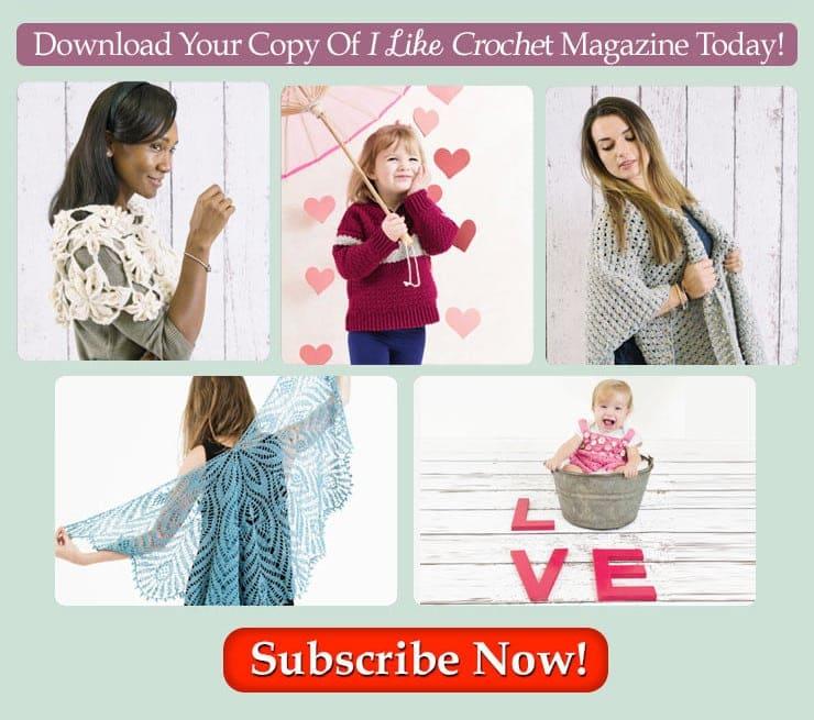 I Like Crochet February Features