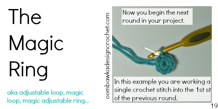 Magic Ring Magic Circle Photo Tutorial