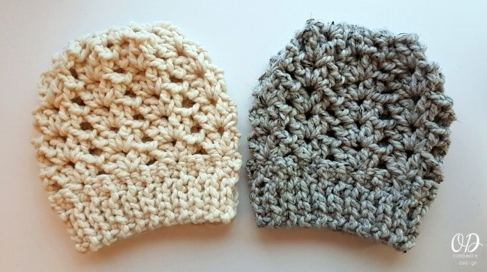 Ponytail or Knot Hat Finished