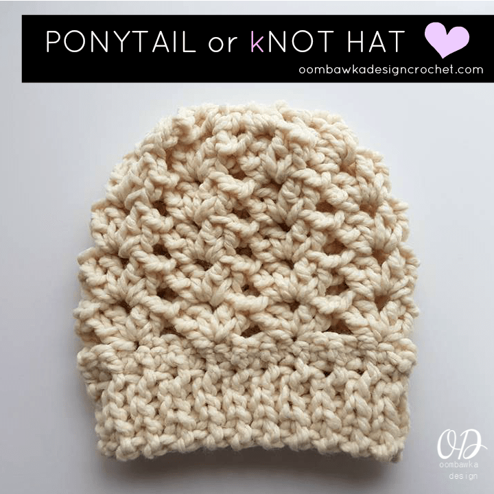 Easy 40 Minute Free Crochet Hat Pattern With Video Oombawka