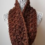 Quick 1 Skein Super Bulky Infinity Scarf – Stashbuster Project 1