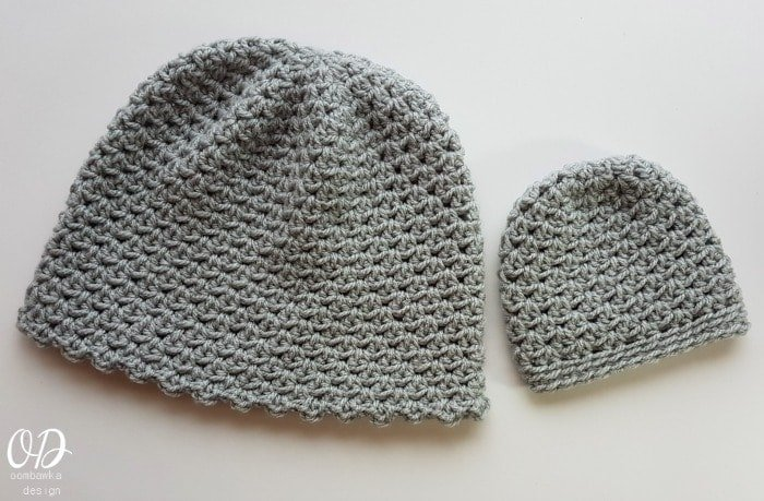 Sweet Hugs Hat Sizes Preemie to Adult Designed by Oombawka Design