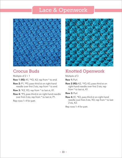 The Big Book of Knit Stitches From Martingale