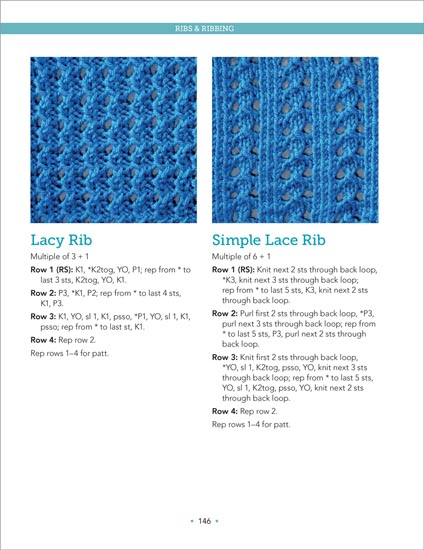 Page 146 The Big Book of Knit Stitches From Martingale