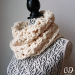 Infinitely Yours Long Scarf Cowl Wrapped Free Pattern #SCARFOFTHEMONTHCLUB2017