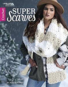 Cabled Super Scarves – Trendy Winter Crochet