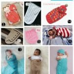 20 Free Patterns for Crocheted Baby Cocoons