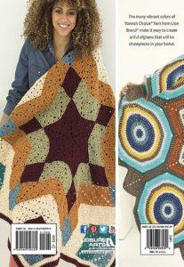 back cover - Mindful Mandala Afghans - Lion Brand Yarn Design Team and Leisure Arts