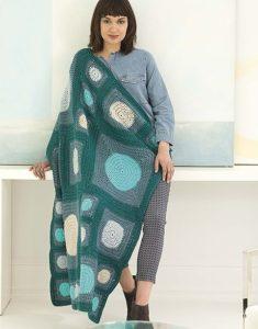 Framhurst Afghan Mindful Mandala Afghans - Lion Brand Yarn Design Team and Leisure Arts