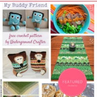 Party Time! Crochet Patterns, Recipes, St. Patrick's Day DIY are all Featured!