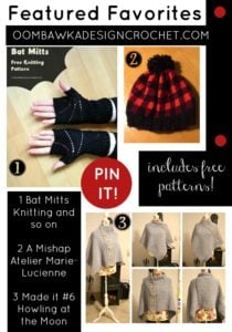 A Happy Mishap, a Plaid Pom Pom Hat and Bat Mitts!