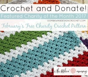 Featured Charity of the Month February 2017 - Granny Stripe Blanket The Stitchin' Mommy
