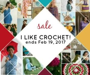 I LIKE CROCHET SALE ENDS FEBRUARY 19TH!