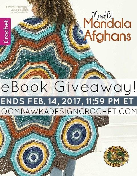 Mindful Mandala Afghans Giveaway event ends February 14 2017 at 1159 pm ET
