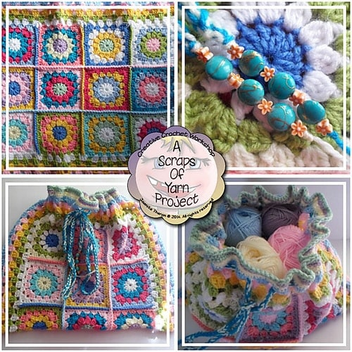 March #CALOFTHEMONTH2017 Crochet Bag Project