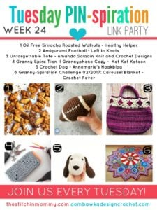 TUESDAY PIN-SPIRATION LINK PARTY FEATURES PARTY 24