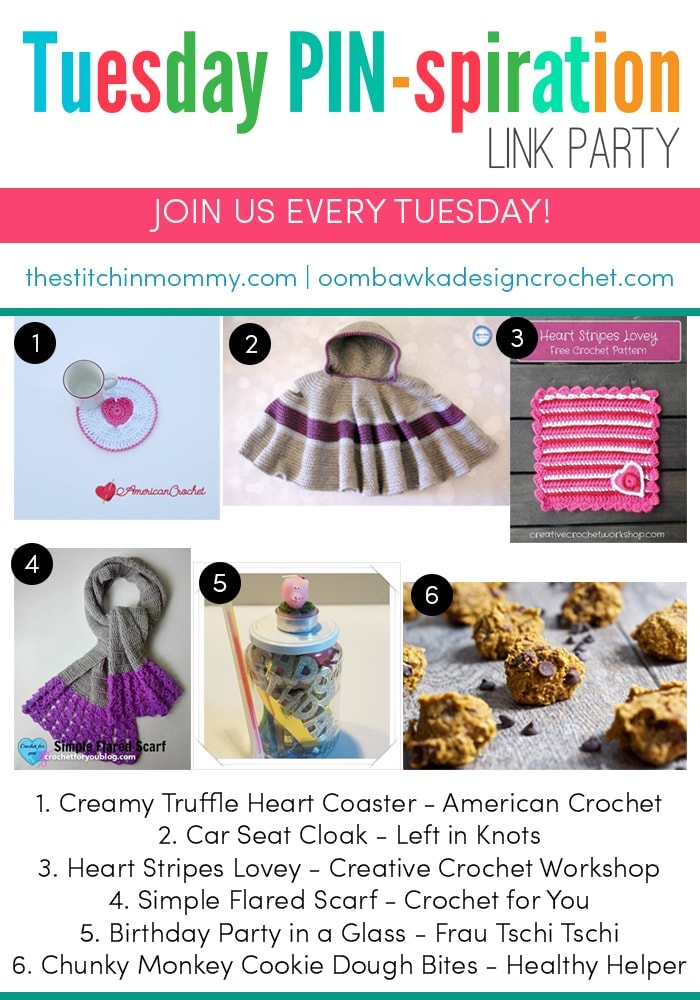 The NEW Tuesday PIN-spiration Link Party Week 25 (2/20/2017) - Rhondda and Amy's Favorite Projects   www.thestitchinmommy.com