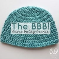 Introducing the BBB! Basic Bulky Beanie
