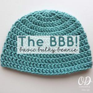 Basic Bulky Beanie Crochet Pattern