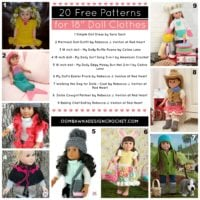20 Free Patterns for 18″ Doll Clothes