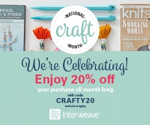 Interweave Crafty20