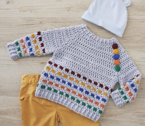 Bold Baby Crochet - 30 Modern And Colorful Projects for Baby 1