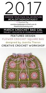 CALOFTHEMONTH2017-MARCH CROCHET BAG FINISHED-PROJECT-