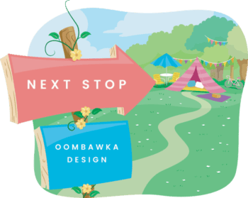 Glamping Tour Stop Oombawka Design