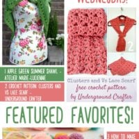 Free Patterns and Tutorials from Atelier Marie-Lucienne, Underground Crafter and Made by Demi!