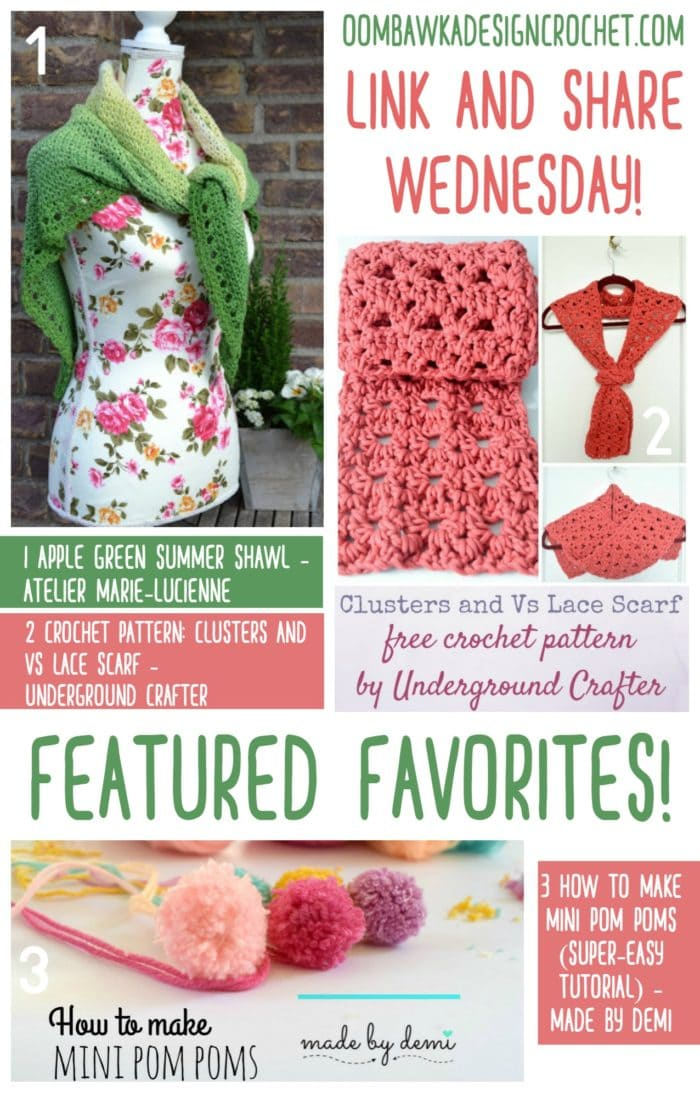 Free patterns and tutorials from Atelier Marie-Lucienne, Underground Crafter and Made by Demi! Check them all out here and save your favorites :)