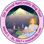 It's National Crochet Month! NatCroMo 2017 Blog Tour Begins Now!