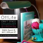 I Love My OttLite Craft Space Organizer! Find out how you can get one too!