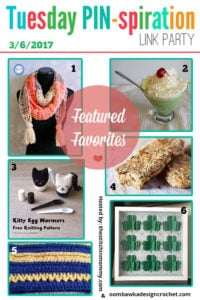 Featuring Some St Paddy's Day Treats and Crochet and Knitting too!