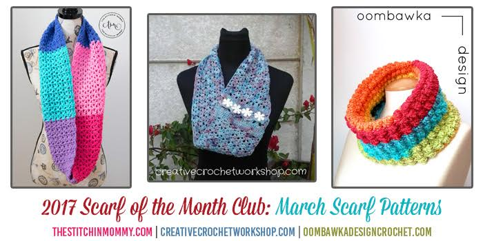 Scarf of the Month Club March 2017