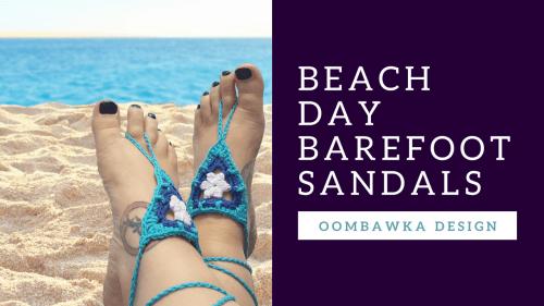BEACH DAYBAREFOOTSANDALS
