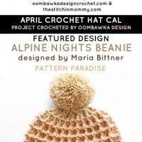 My April Crochet Hat CAL Project