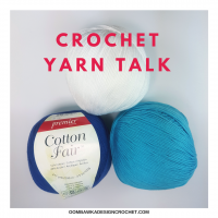 Crochet Yarn Talk – Premier® Cotton Fair® Yarn Review