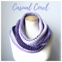 #SCARFOFTHEMONTHCLUB2017 April – Casual Cowl