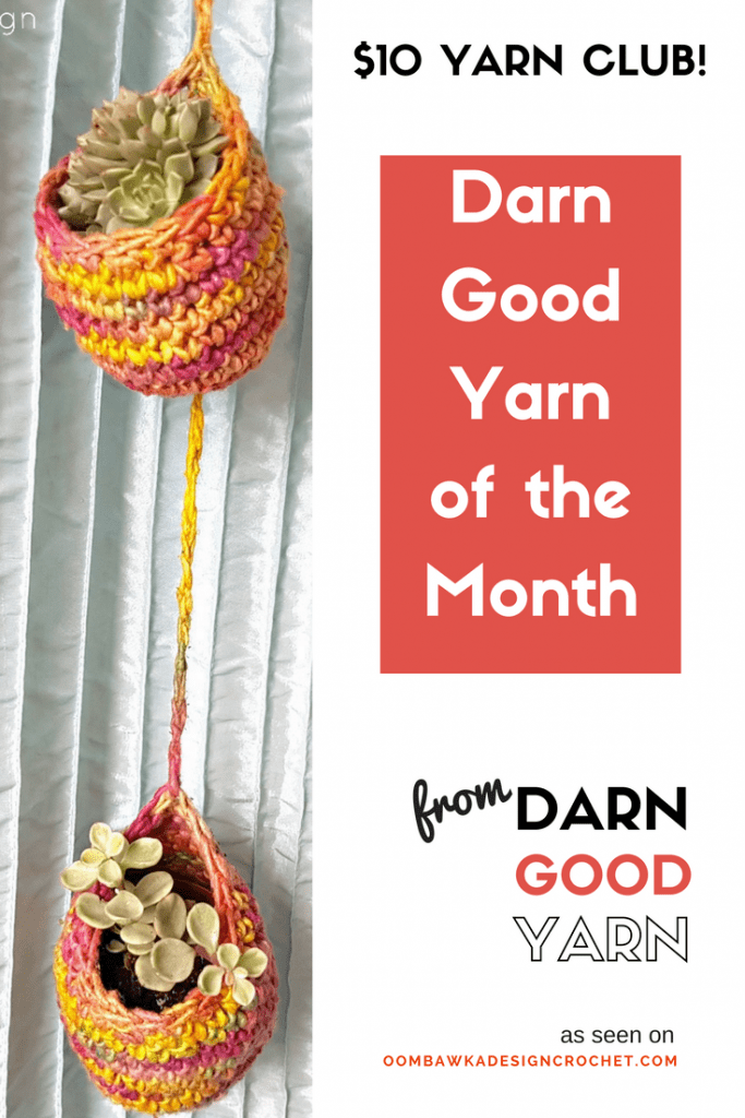 DARN GOOD YARN OF THE MONTH Club review