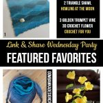 Featured this week are: Knitting and So On, Howling at the Moon and Crochet for You!