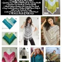 20 Free Crochet Poncho Patterns