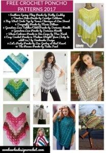 Free Crochet Poncho Patterns 2017