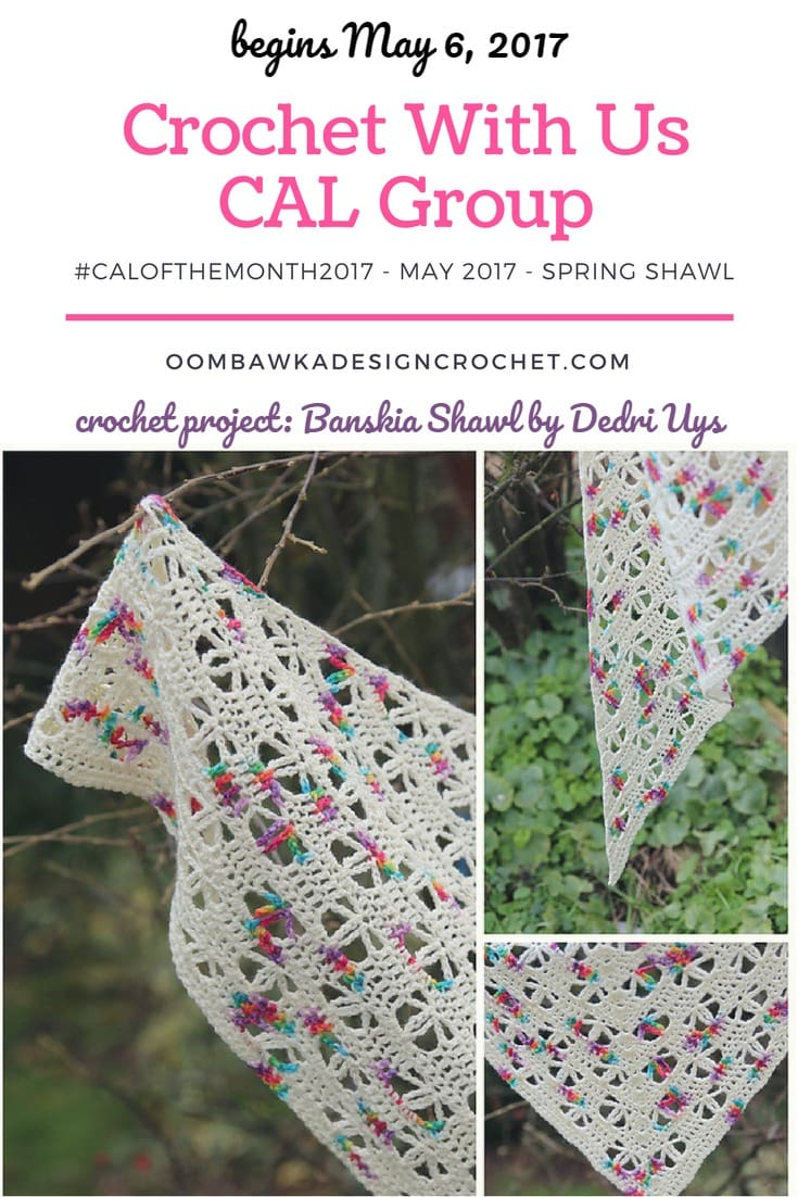 Spring CAL Crochet with Us #CALOFTHEMONTH2017
